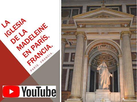 LA IGLESIA DE LA MADELEINE EN PARÍS. Francia