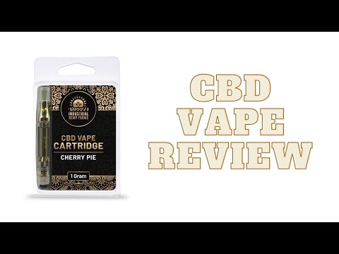 Blue Dream CBD Vape Review – Industrial Hemp Farms