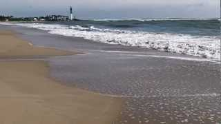 Hurricane Sandy high tide 10/27/12 Pompano Beach FL