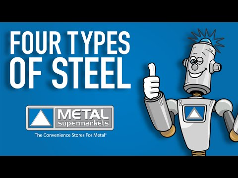 The Four Types of Steel (Part 1) | Metal Supermarkets