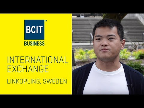 BCIT International Student Exchange at Linköping University, Sweden - Kurtis