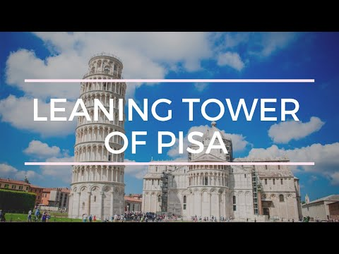 The leaning tower of pisa - A day in Pisa, Tuscany