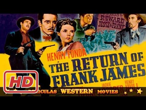 The return of Frank James  ★★☆ WESTERN MOVIE ☆ ★ ★ HD