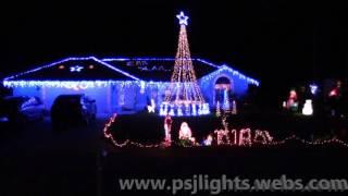 PSJ Christmas Light Show 2016 - Christmas Eve Sarajevo By TSO