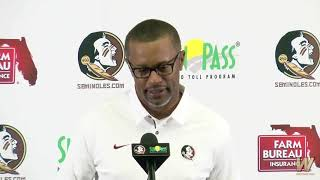 Warchant TV: Willie Taggart on early signing, first weeks at FSU