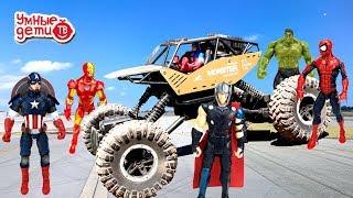 Машинка Монстр-Трак на радиоуправлении Распаковка Гонка Sulong Toys Off-Road Crawler Force Unpacking