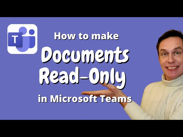 How to make documents read-only in Microsoft Teams