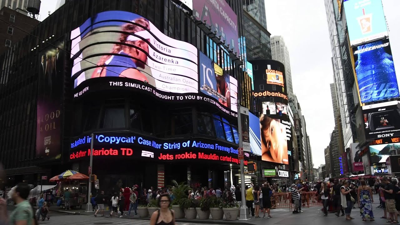 Times Square Led Signage Abc Supersign For Citizen
