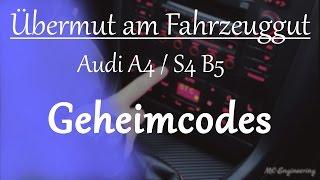 ML-Engineering - Audi A4/S4 B5 Geheimmenü Klimacodes Hidden Menue