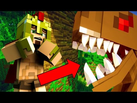 HUNGER GAMES SUR MINECRAFT ! MAP JURASSIC PARK ! EPISODE 3 !