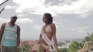 Miss Universe Jamaica 2016- BTS Swimsuit Photo Shoot