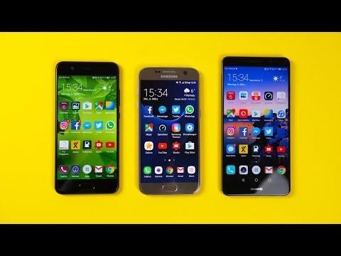 Huawei P10 vs. Samsung Galaxy S7 vs. Huawei Mate 9: Benchmark | SwagTab