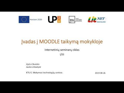 internetinių seminarų vaizdo įrašų pasirinkimas
