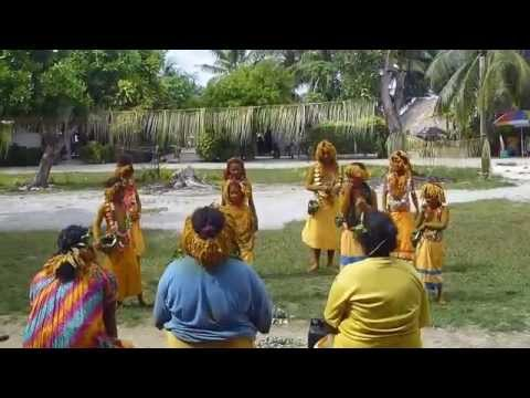 Nukumanu Girls Dancing (Bible Dedication)