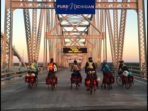 1,300 Mile Bike Ride from New Hampshire to Michigan -- Odyssey 2015