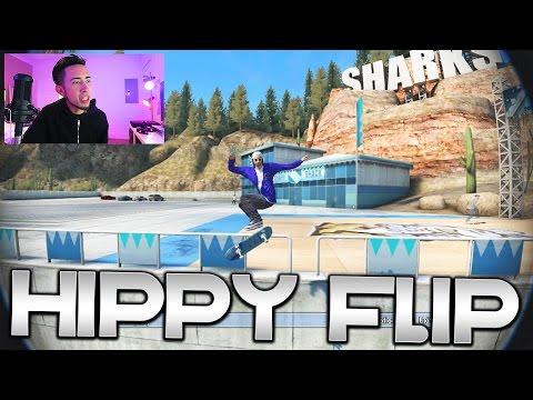 Skate 3 - Hippy Flipper In Free Skate + NEW Skater