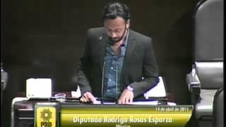 Dip. Rodrigo Rosas (PRD) - Ley de Caminos, Puentes y Autotransporte Federal