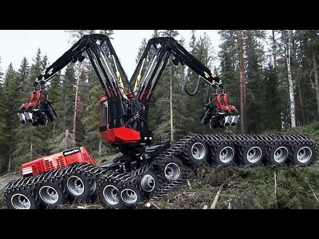 Опасные самые быстрые станки для резки деревьев цепной пилой