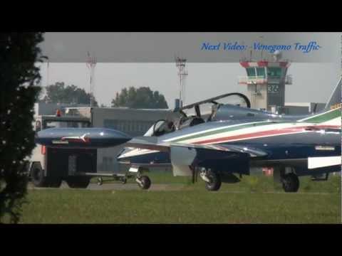 MALIBU MIRAGE PA-46 Take off Venegono Airport (LILN)