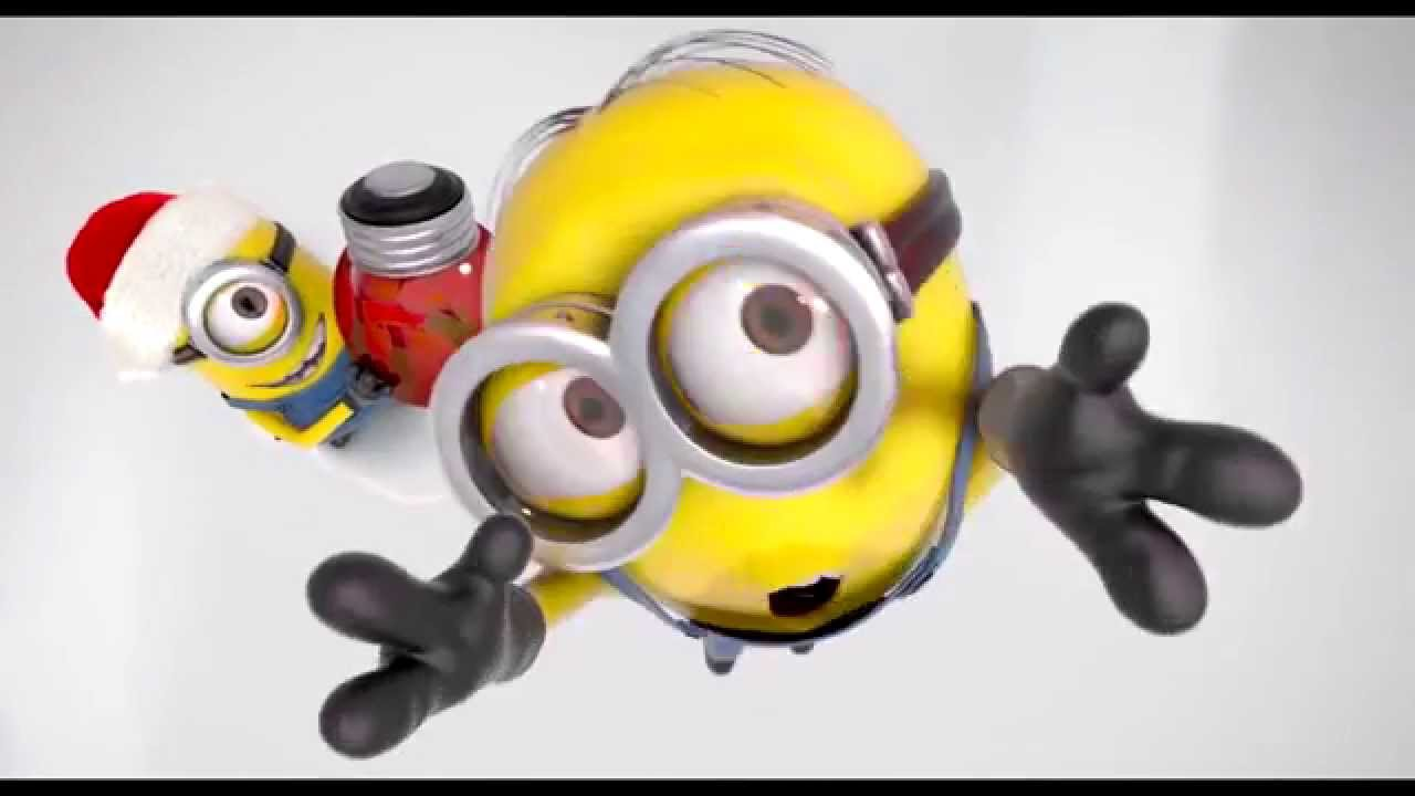 merry christmas and happy new year 2014 from the minions and chameleon web services youtube
