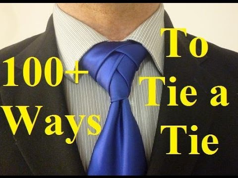 How to tie the eldredge knot for your necktie youtube ccuart Image collections