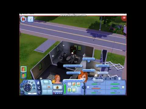 SIMS 3 Family Episode 3 The Weather forcast (With Mr. Assistant)