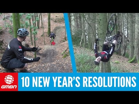 10 Mountain Bike New Year's Resolutions