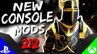 Skyrim Special Edition: ▶️5 BRAND NEW CONSOLE MODS◀️ #212 (PS4/XB1/PC)