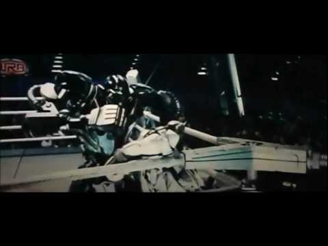 Real Steel - Atom Vs Zeus - Eminem Not Afraid