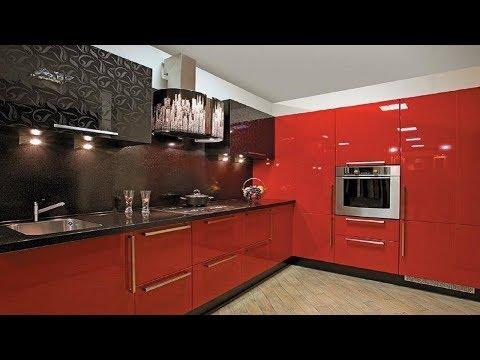 КРАСНО-ЧЁРНАЯ КУХНЯ | Стильный Дизайн Кухни в Красно-чёрном цвете