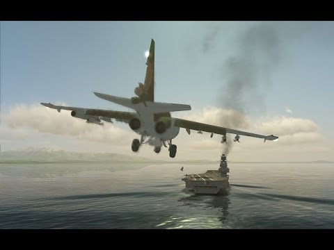 DCS SU-25T SEAD CAS RiVER ATTACK ANOTHER DAY