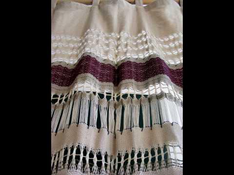 Semiramida Curtains - hand made (zavese rucno tkane).mov