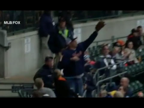 Man Catches 5 Foul Balls At Detroit Tigers Game