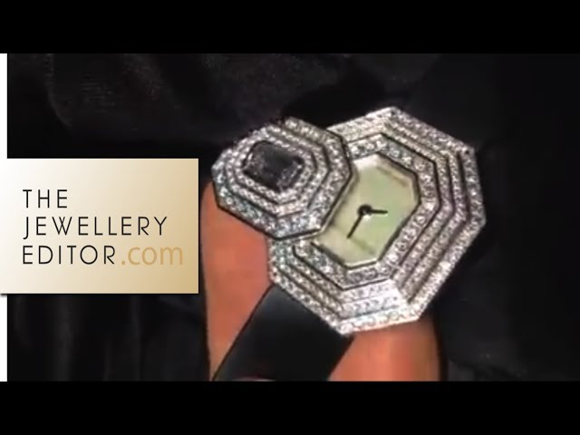 Harry Winston diamond watch revealed at Baselworld 2014