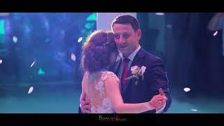 """Армянская свадьба! Первый танец жениха и невесты! Поёт Albert Jagatspanyan - """"Miakn es"""" 2018"""