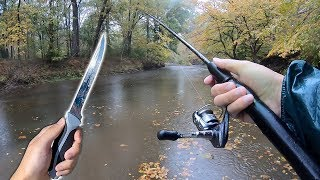 Catch My Own Food - Creek Fishing!! (Catch Clean Cook)