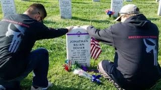 Vets trek through 11 states to raise awareness about suicide thumbnail