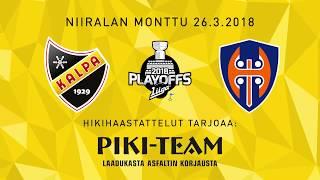 KalPa - Tappara, neljännesfinaalien 4. ottelu, hikihaastattelu: Sami Kapanen ja Tommi Jokinen