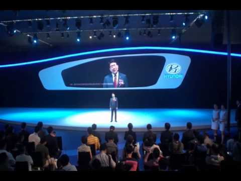 The 10th China Guangzhou International Automobile Exhibition Hyundai Press Conference