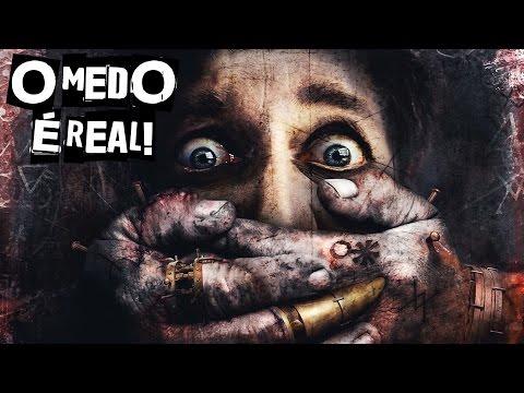 5 CENAS DE TERROR ONDE OS ATORES ESTAVAM...