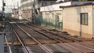 阪神8000系タイプⅣ(8235F)直通特急阪神大阪梅田行き 藤江駅通過