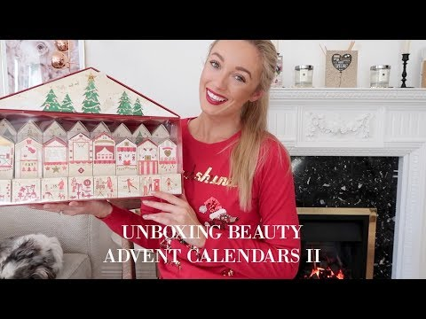 OPENING BEAUTY ADVENT CALENDARS PART II // Selfridges, Jack