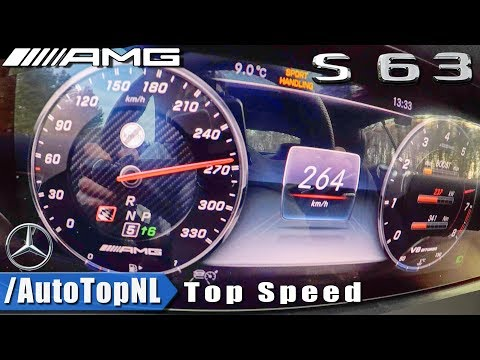 NEW! Mercedes AMG S63 Coupe 4Matic+ ACCELERATION & TOP SPEED 0-264km/h RACE START By AutoTopNL