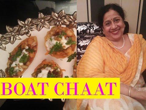 Boat Chat | Chaat | Matar | Sprouts | Tasty Aloo Chana Chaat Recipe
