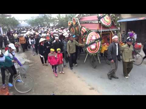 Lễ tang cụ Nguyễn Thị Choạt xã Tiền Phong Vĩnh bảo