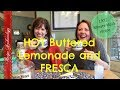 Retro Beverage Recipe - Hot Lemonade and FRESCA with BUTTER!