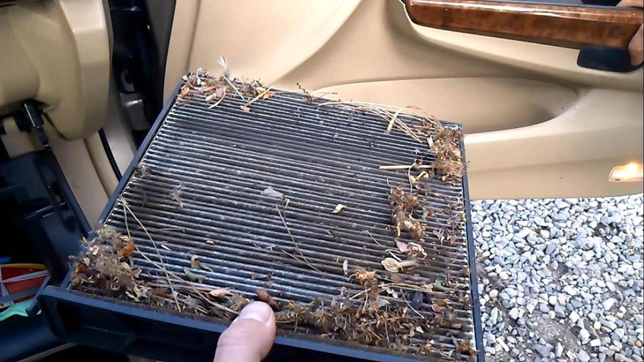 how to change cabin filter honda accord 2015