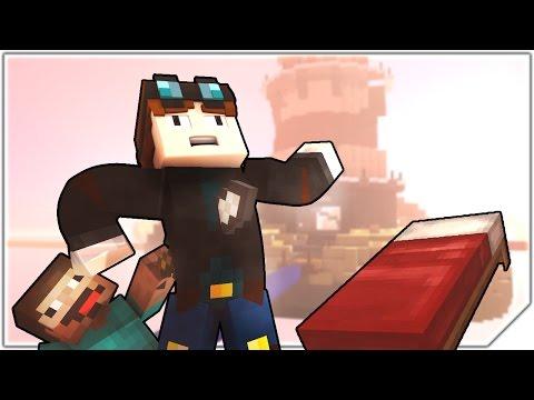 DANTDM plays Bed Wars! - Minecraft Animation