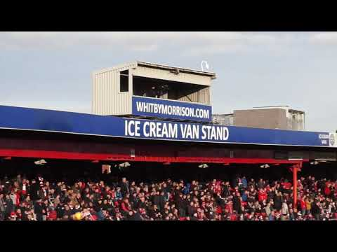 CREWE ALEXANDRA V LINCOLN CITY MATCH DAY EXPERIENCE