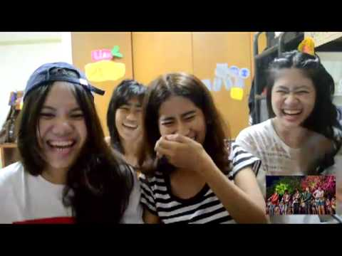 Reaction Live While We're Young - One Direction